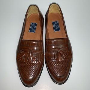 Bostonian Florentine Brown Leather SZ 8.5 M Italy